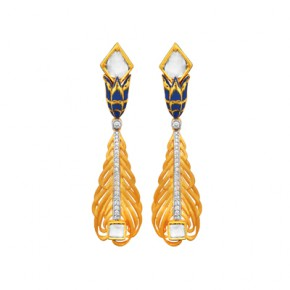 Chatai style earrings