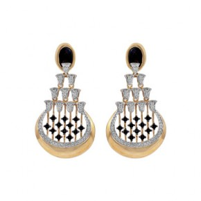White Lotus Diamond Earrings by Zoya - A Tata Product