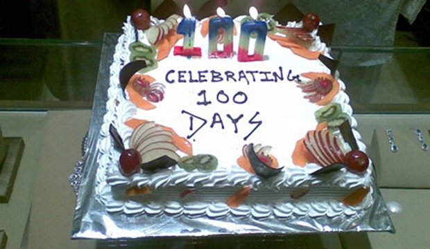 100 DAYS CELEBRATION @ Zoya