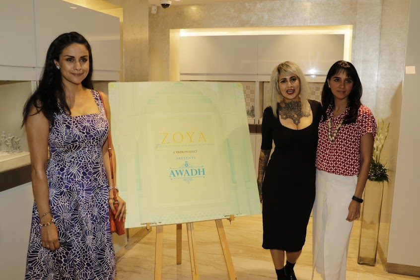 Gul Panag, Shruti Seth and Sapna Bhavnani at Zoya