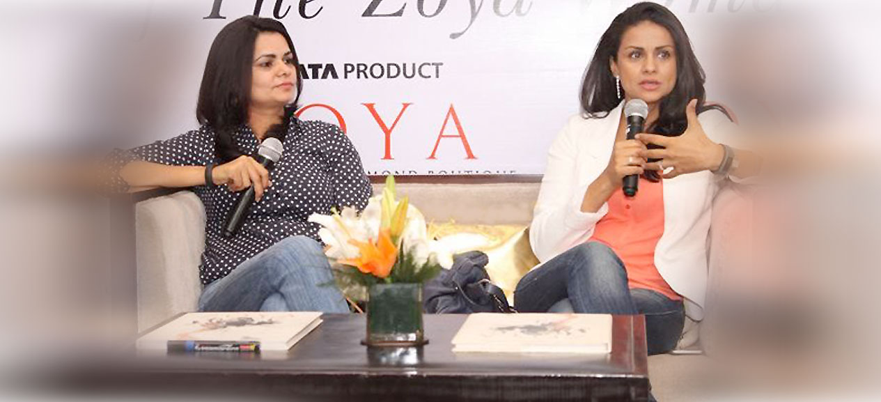 Gul Panag and Swaty Malik at Zoya