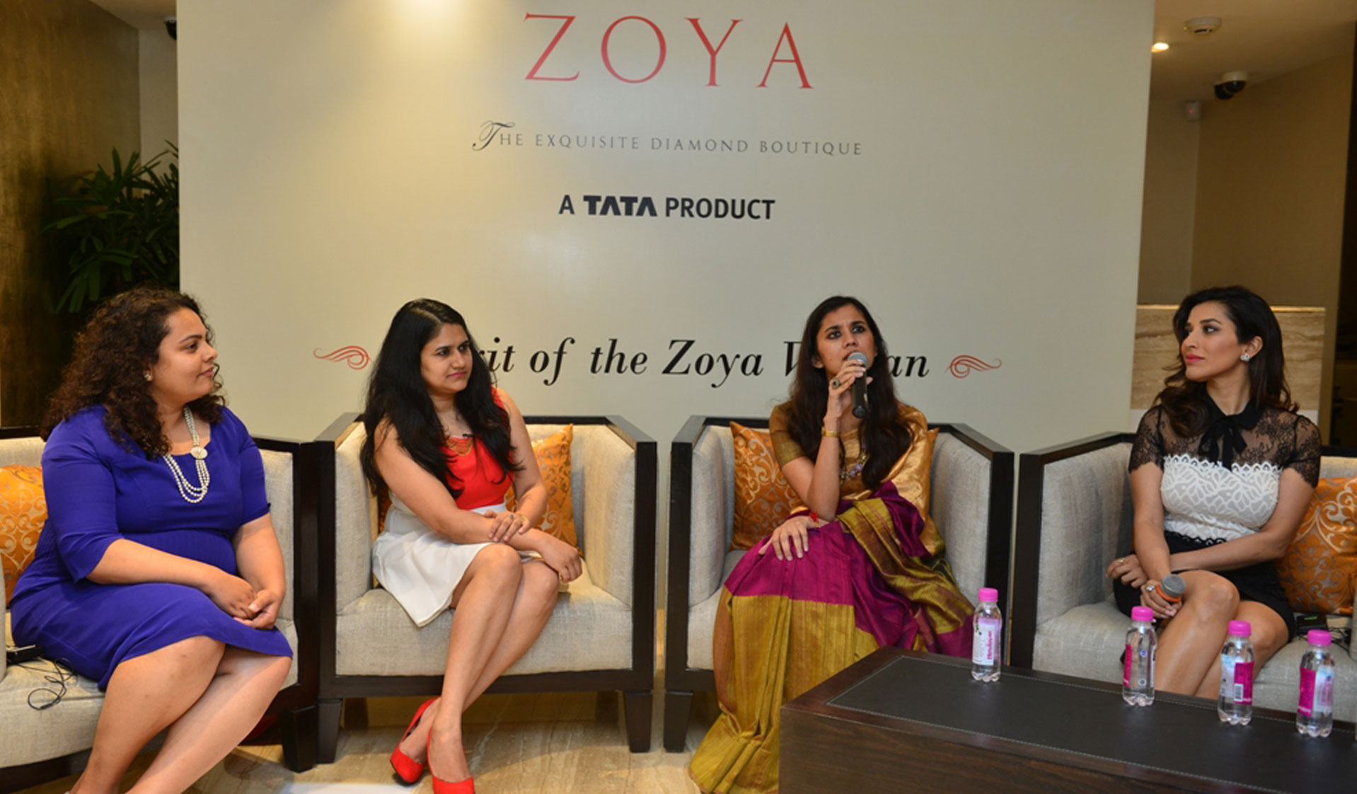 Woman of Substance with Sophie Choudry, Rajshree Bakshi, Ritika Nandkeolyar and Avanti Deo Mishra at Zoya