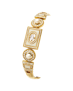 Rose cut diamond bracelet  - IN00BZC