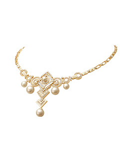 Prong set diamond necklace  - IN00NZC