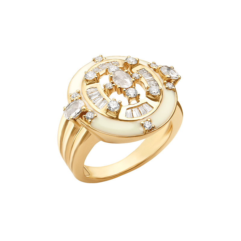 Rose cut diamond ring  - IN00FZA