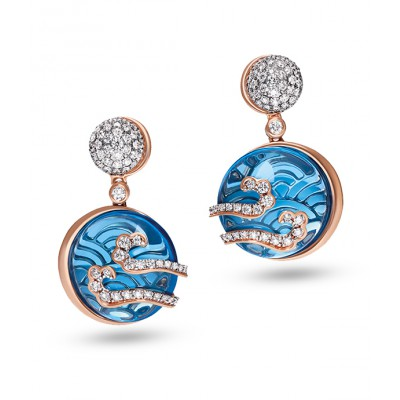 Swiss Topaz Earrings