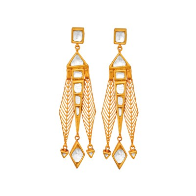 Neo Contemporary style earrings
