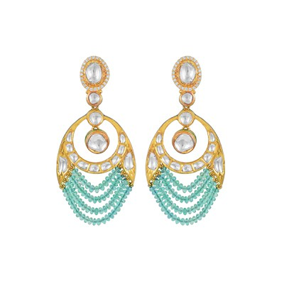 Spirit of Awadhi nature earring