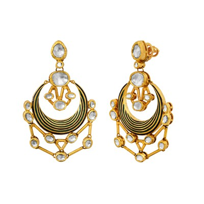 Trickling Butter earrings