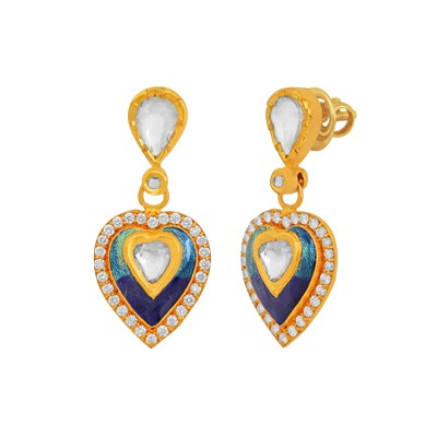 Stunning Morpankh earrings