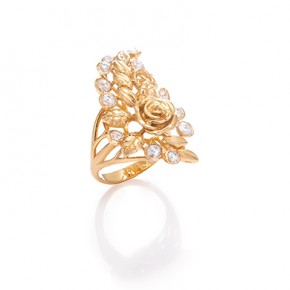 Enchanting Rose Ring