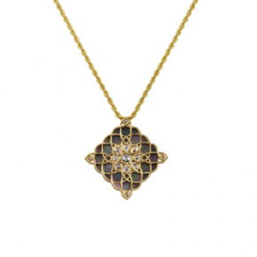 Explore Mother of Pearl Diamond Pendant by Zoya - A Tata Product