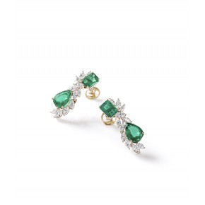 Emerald Red Carpet Earrings​