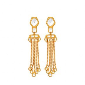 Gold Rain earrings