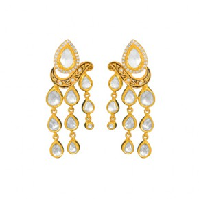 Partraj Pattern Earrings