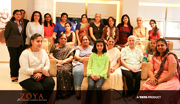 ZOYA WOMEN GET TOGETHER FOR SOME FUN!