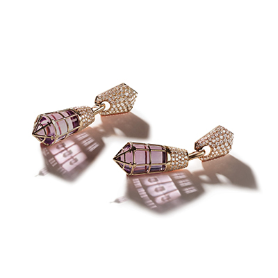 Florence Baptistery Amethyst Drop Earrings - IT 18 DBH