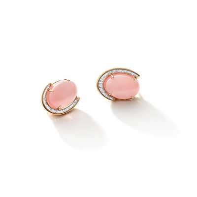 Colosseum Rose Quartz Earrings - IT 18 SAV