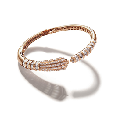 Florence Baptistery Diamond Bangle IT 18 VAI