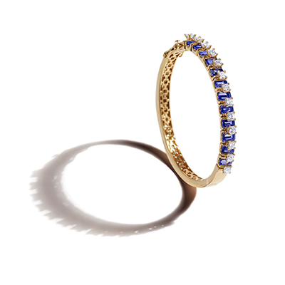 Pantheon Dome Window Diamond Bangle - IT 18 VAT