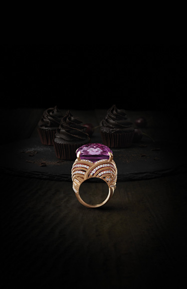 Zoya Jewellery Collection  - Carving and Scaling