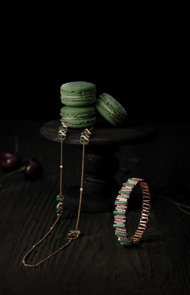 Zoya Jewellery Collection  - Gathering and Layering