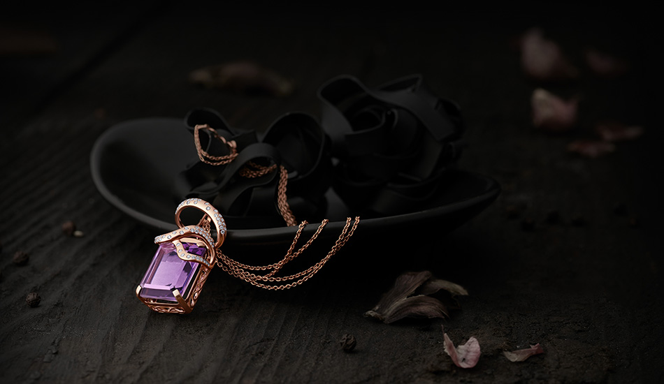 Rhapsodie Collection: Tryst with Amethyst in Rare jewellery